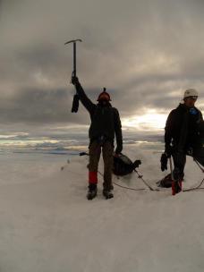 chimborazo peak, ecuador