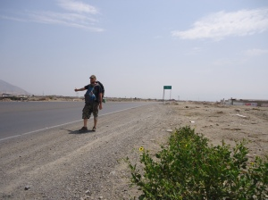 hitchhiking peru